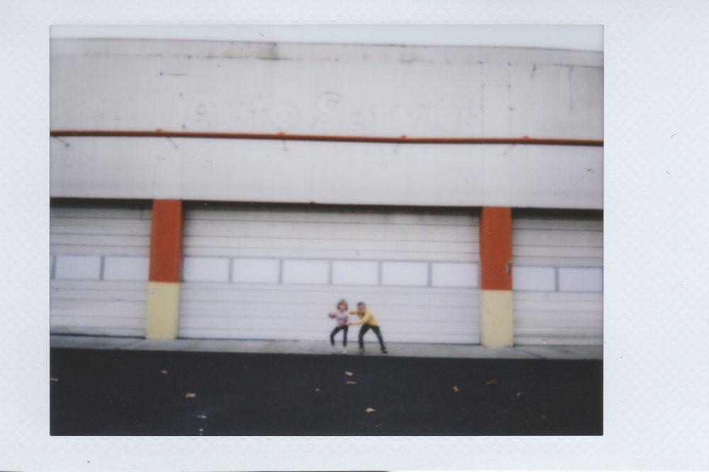 Parking Lot Polaroids