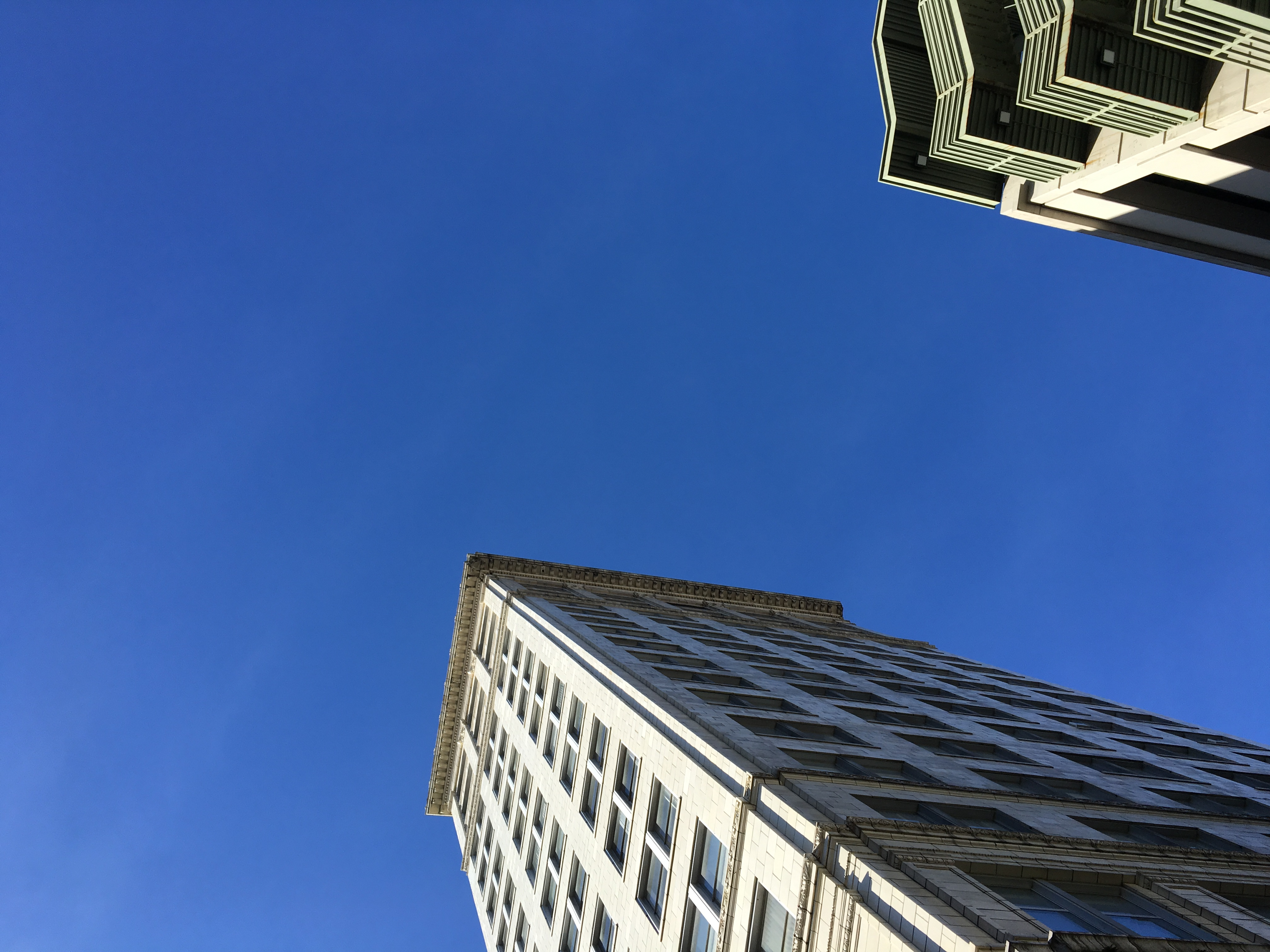 From the sunroof