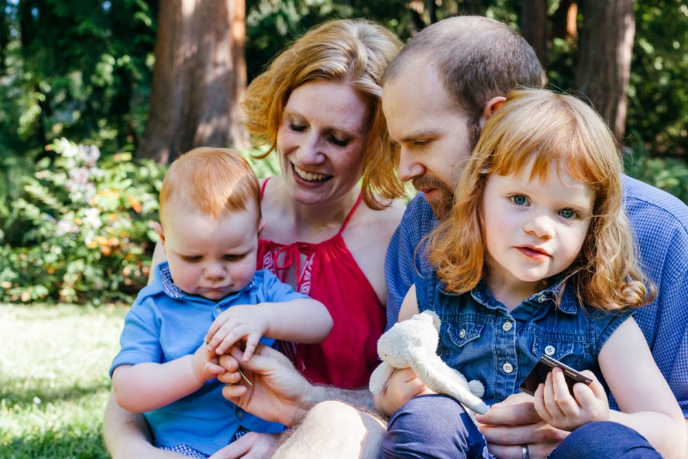 Afternoon at the Arboretum – Seattle Family Photography