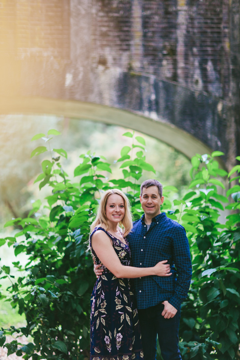 Lydia and Aaron -Seattle Arboretum Engagement