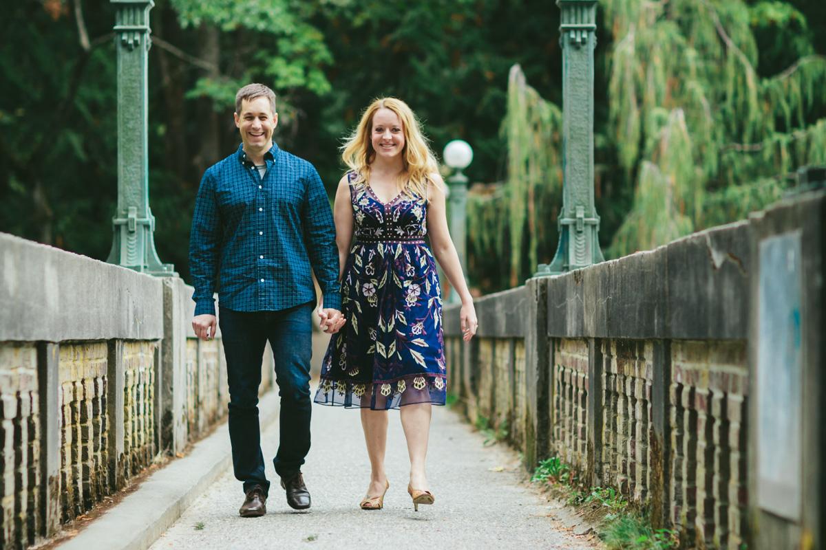 Lydia and Aaron -Seattle Arboretum Engagement
